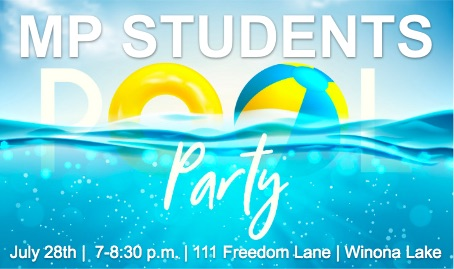 MP Students Pool Party
