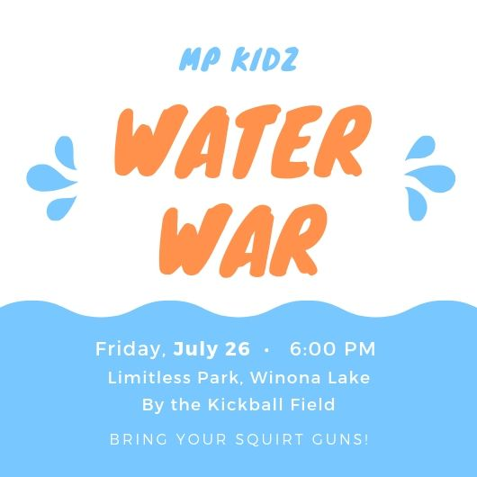 MP Kidz Water War